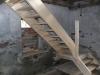 Einbau neuer Treppenlauf